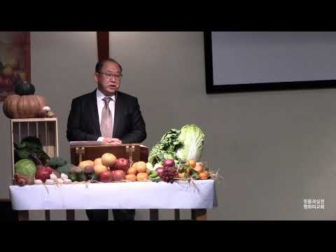 감사의 기초 191103 Sermon
