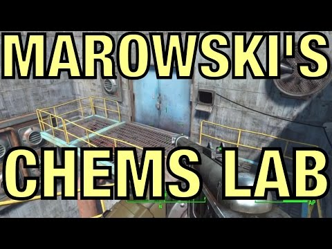 Fallout 4 - Gain Access to Marowski's Chems Lab [Diamond City Blues]