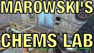Fallout 4 - Gain Access to Marowski's Chems Lab [Diamond City Blues]
