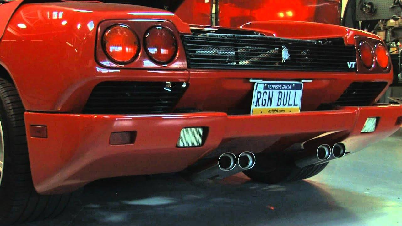 Lamborghini Diablo Fabspeed Supersport Exhaust Demo