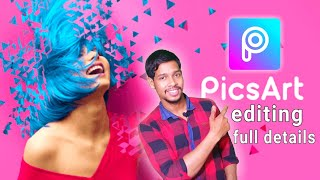PicsArt Photo Studio: Collage Maker & Pic Editor full specification Hindi tutorial /Aaura Technical