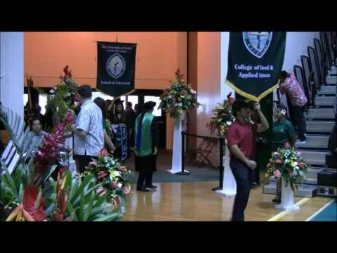 Fall 2016 Graduation at the University of Guam Fieldhouse: 12//18/16
