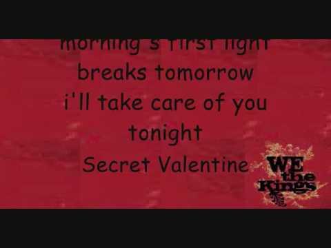 Secret Valentine We The Kings Lyrics