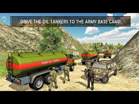 Army Oil Tanker Transporter (by Mizo Studio Inc) Android Gameplay [HD]