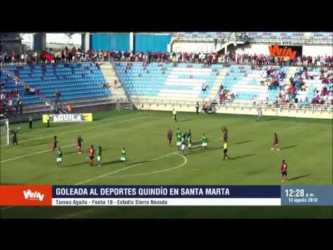 Torneo Aguila  | Unión Magdalena 5-0 Quindío | Fecha 19