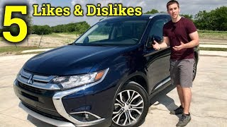 Living With The New Outlander | 2018 Mitsubishi Outlander 5 Likes and Dislikes