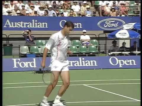 ATP 1994 Australian Open SF Sampras vs Courier ENG