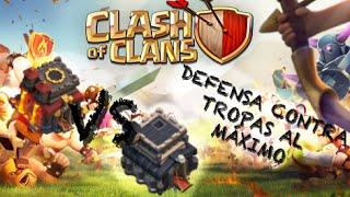 Emplumaitor 064 - Defensa contra tropas al máximo - Ayun 9 vs 10 - Sucos Clash of Clans