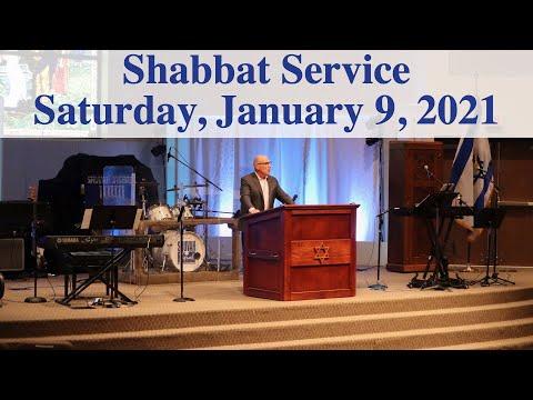 January 9, 2021 - Shabbat Service
