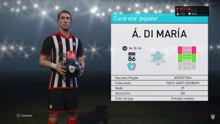 Live pes 2018 || ligue 1 ball open || tirei mais um monstro!!!