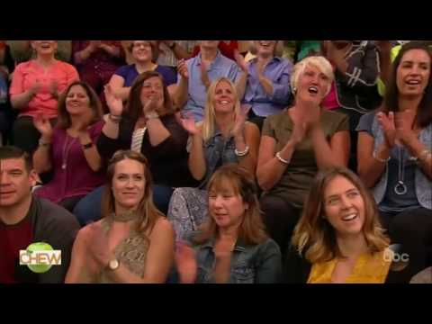 The Chew (September 19, 2016) TV hosts George Stephanopoulos, Michael Strahan and Robin Roberts