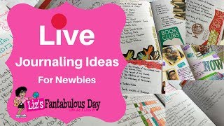 Live  How to Journal, Journaling Ideas, Mistakes When Starting to a Journal Ideas for Newbies
