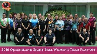 2016 Qld 8 Ball Womens State Team Play-off Sun PM