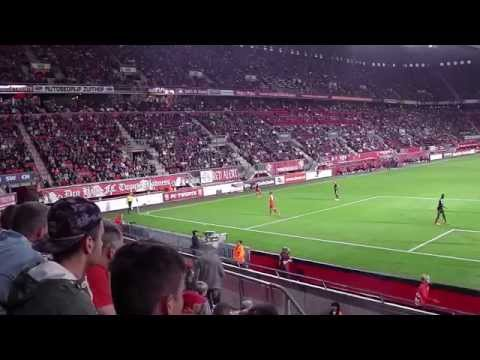 Fc Twente - Go ahead Eagels 13-09-2014. De onterecht afgekeurde goal van Bengtson.