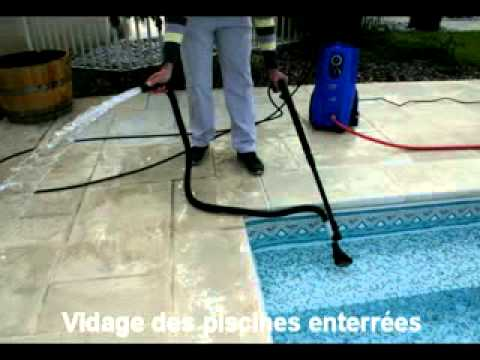 Nilfisk pompe vide cave et piscine youtube for Pompe aspirateur piscine
