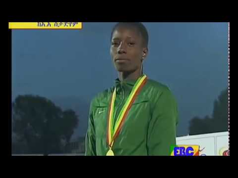 400m Women Medal Presentation - 12th African Junior Champs - AddisAbaba 2015