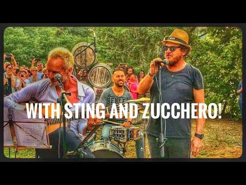 Sting, Chris Botti and Zucchero #marcoconfetti #drummer #batterista #sting #zucchero #chrisbotti