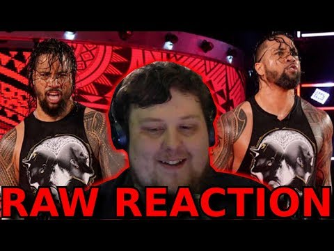 THE USOS GO TO RAW!!! : 15/04/2019 : RAW Superstar Shake-up Reaction