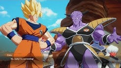 DRAGON BALL FIGHTERZ Goku Says Vegeta is Better than the Ginyu Force