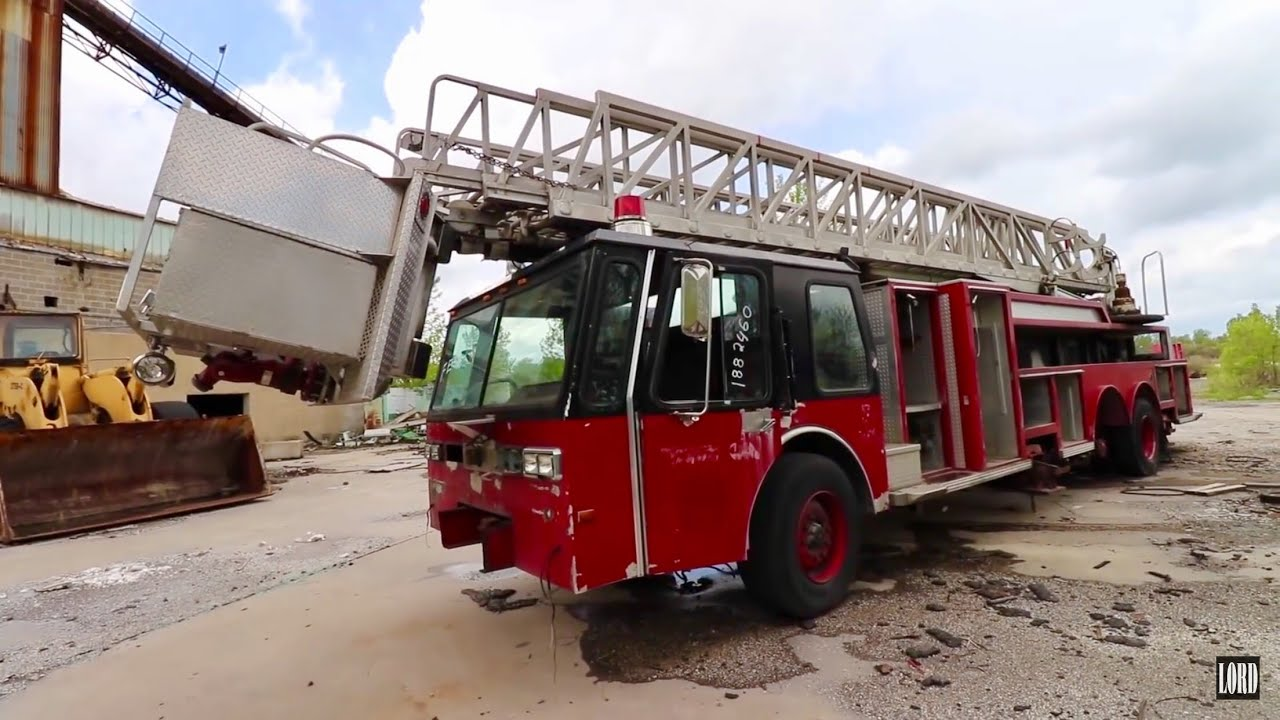 Found Abandoned Fire Truck at Defunct Brick Plant