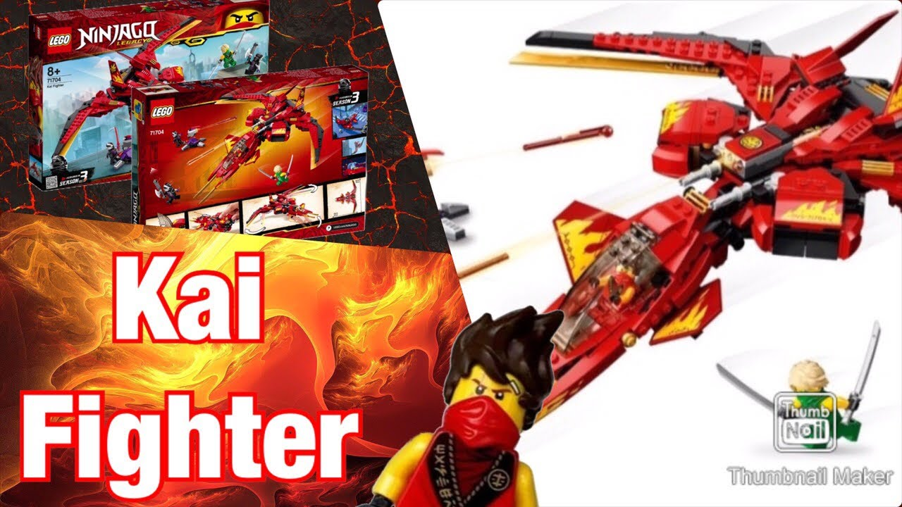Lego Ninjago Legacy Kai Fighter All Set Images 3 D Review Preview Season 13 Youtube