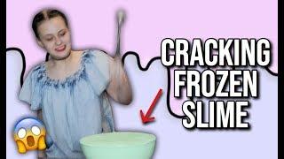 CRACKING FROZEN SLIME!