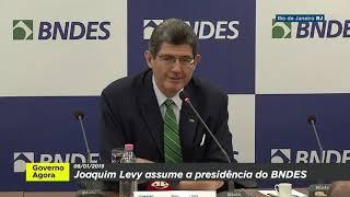 Veja a entrevista coletiva do presidente do BNDES, Joaquim Levy