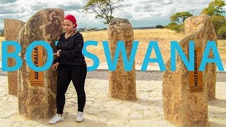 TRAVELLING & MEETING PEOPLE IN BOTSWANA | DISCOVERING ZIMZYGIRL