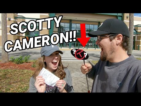 WE FOUND A SCOTTY CAMERON PUTTER W/ Fake Circle T Shaft?? + More THRIFTY Golf Finds!!