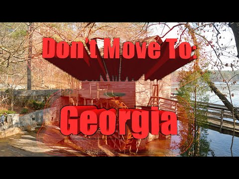 Top 10 reasons NOT to move to Georgia. Let's take another look at the Peach state and Atlanta.