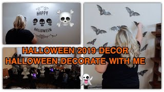 HALLOWEEN DECORATE WITH ME l HALLOWEEN 2019