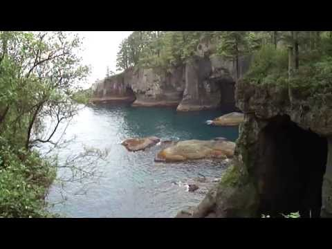 High definition footage of a typical easy hike in Cape Flattery