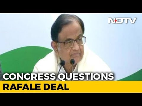 """""""Dassault Laughed All Way To Bank"""": P Chidambaram's Dig On Rafale Deal Mp3"""