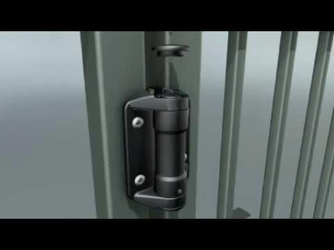 D Amp D Technologies Tca1 Truclose Gate Hinge Installation
