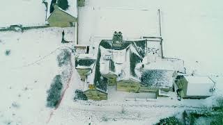 Snowy Wiltshire Secret Bunkers