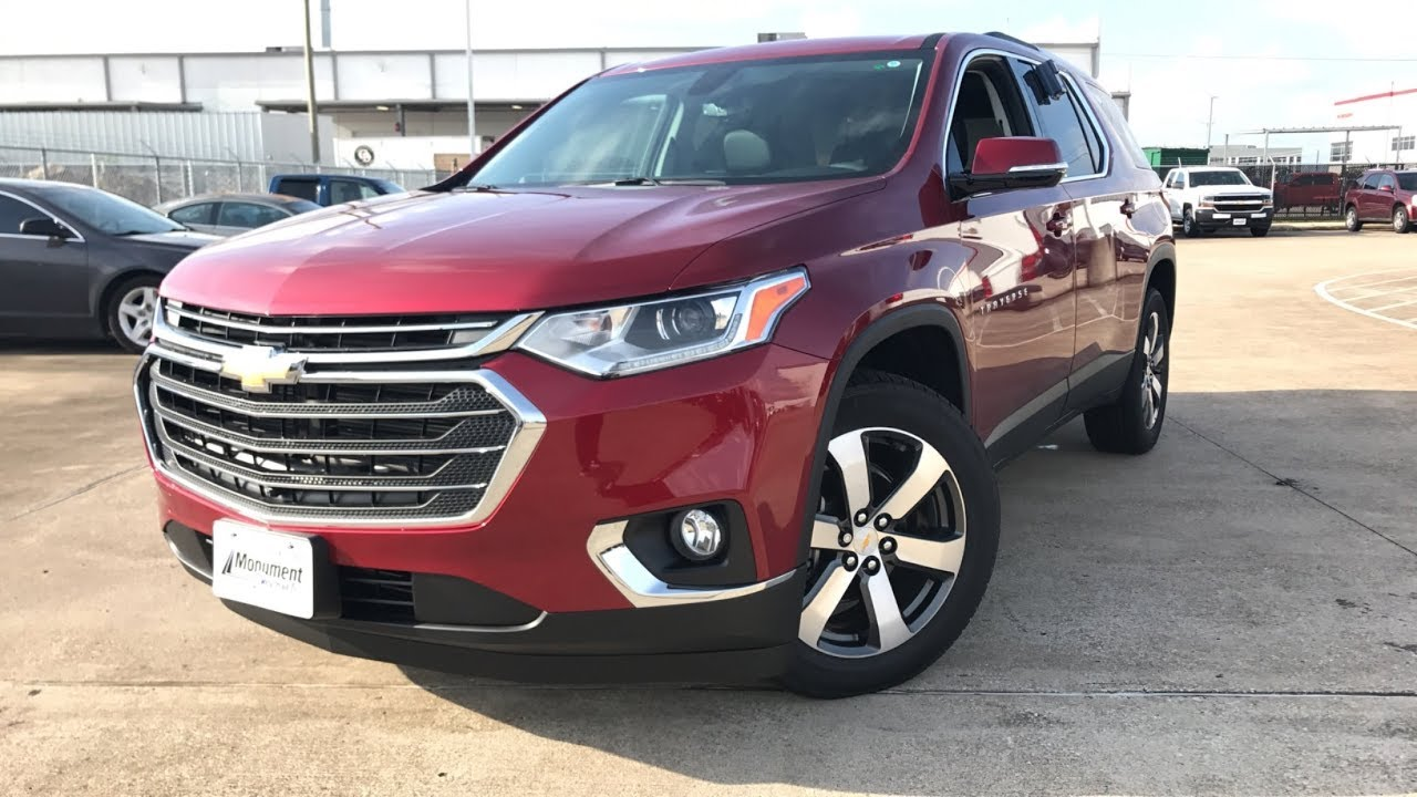 2018 Chevrolet Traverse Lt Leather 3 6l V6 Review