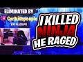 I Killed Ninja In A 1v1! (Fortnite Battle Royale CarlRed Vs Ninja)