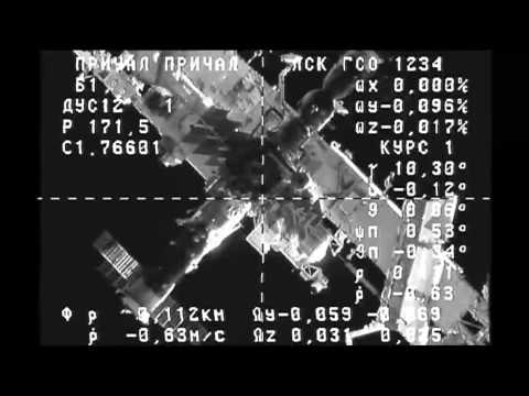 Russian Cargo Ship Arrives at the International Space Station