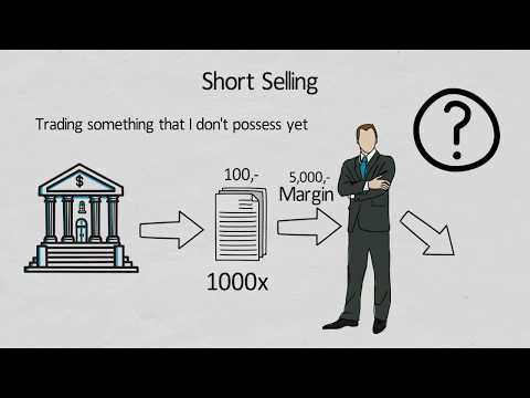 Selling Short - easy explained with an example