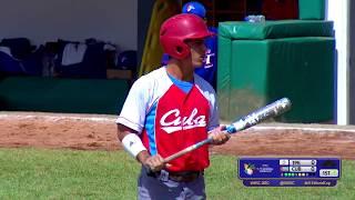 Chinese Taipei v Cuba - Super Round - U-15 Baseball World Cup 2018