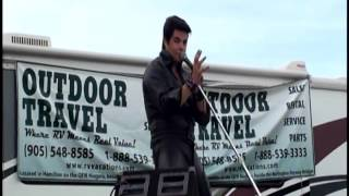 Trouble Performed by Richard Wolfe (Elvis Tribute Artist) at Rockton Ontario