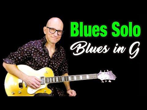 Blues Solo in G - Improvising Over Mats Nermark's Killer Track