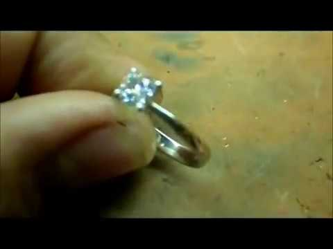YARING PLATERO Video 33 - Swarovski zirconia engagement ring