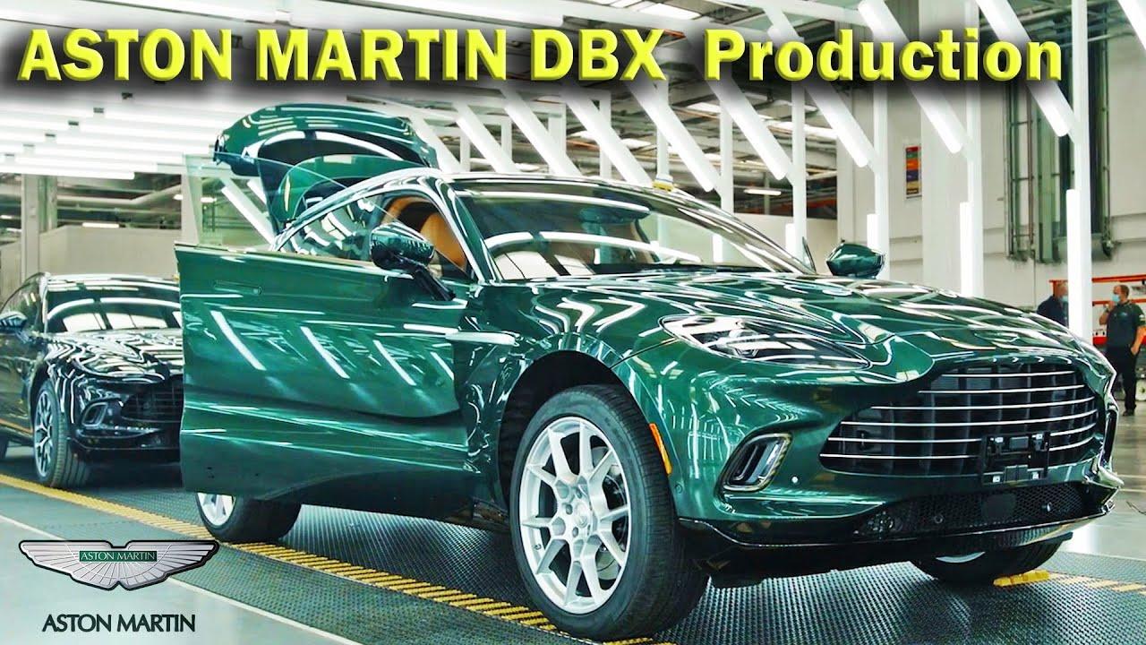 Aston Martin Dbx Production Luxury Suv Manufacturing Uk Plant Youtube