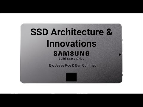 SSD Architecture & Innovations