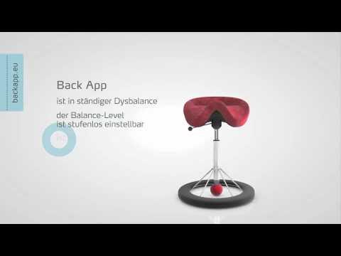 Backapp Der Stuhl Gegen Ruckenschmerzen Youtube