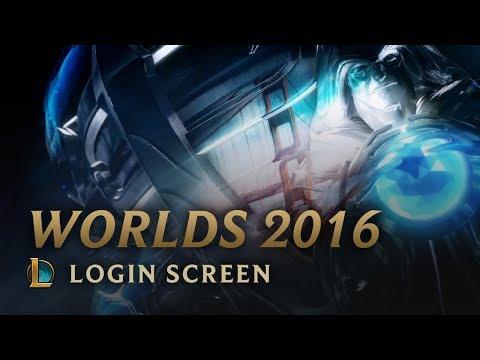 World Championship 2016 | Login Screen - League of Legends