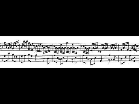 G F Handel:  Suite in F Major: Allegro  Robert Hill fortepiano