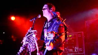 MISFITS Jerry Only Dez and Goat STATIC AGE medley live and close up STARLAND Ballroom