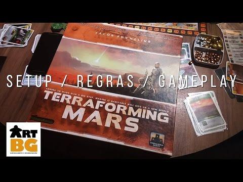 TERRAFORMING MARS Setup, Regras e Gameplay